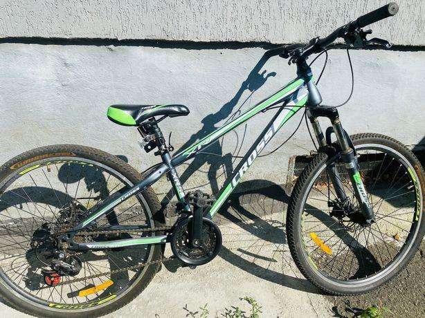 Велосипед детский Велосипед CrossBike Racer /Light Green
