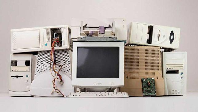 Recolha de Material electrónico