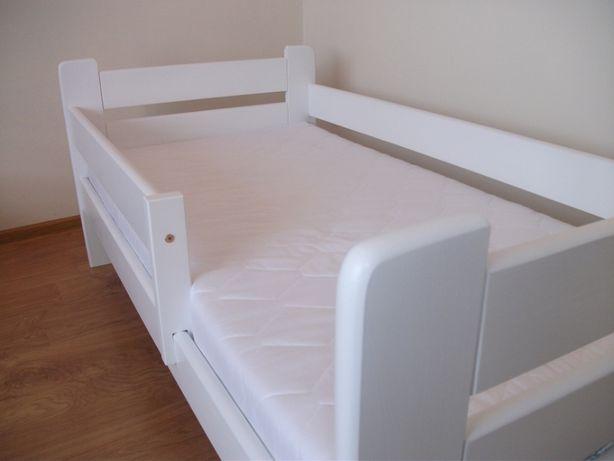 NOWE Śliczne Łóżko DZIECIĘCE 80x160 + MATERAC Pianka latex KOLORY