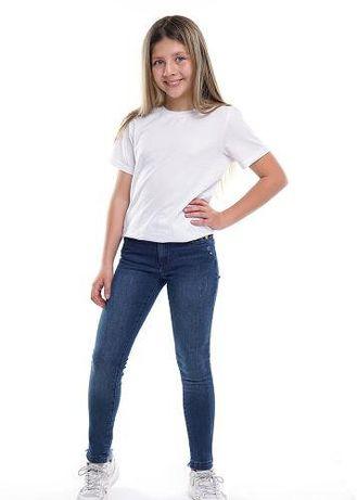 Качественные и стильные джинсы девочке скинни от D-Zine Made with love