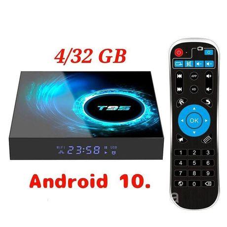 Смарт ТВ приставка 4/32 Smart TV T95 Android 10