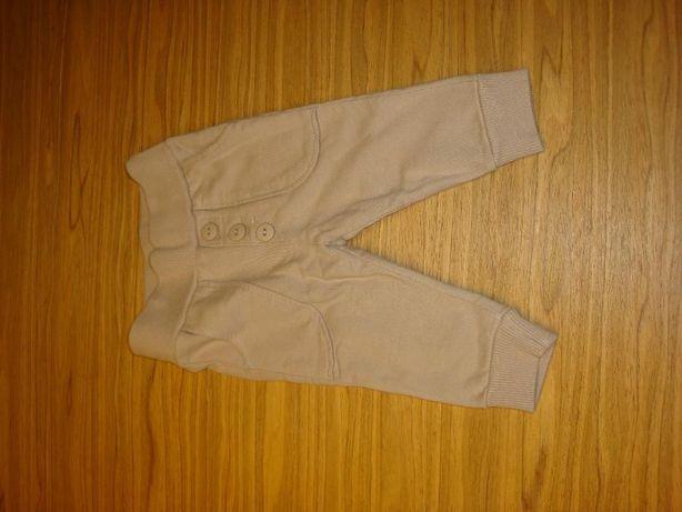 Beżowe spodnie Pinokio, rozm. 62