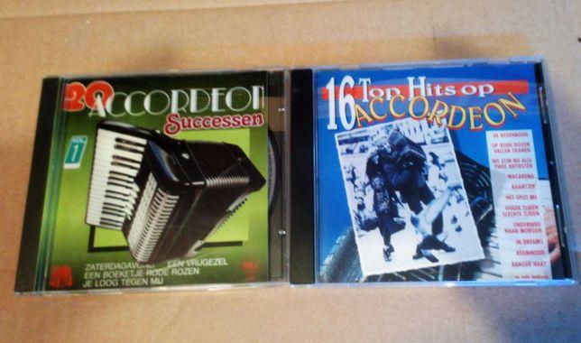2 CD akordeon zestaw tematyczny