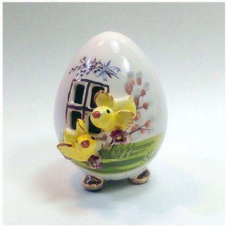 jajka ceramiczne, jajka wielkanocne