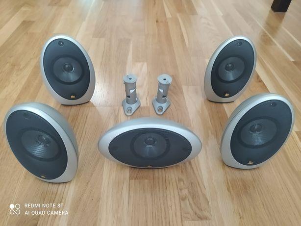 Głośniki kina domowego KEF 1001 - jak nowe.
