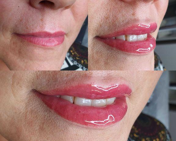 Współpraca z salonem kosmetycznym- makijaż permanentny