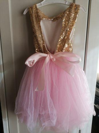 Piękna sukienka rozm 98
