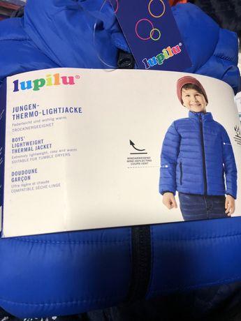 Термо куртка демі дитяча для хлопчика lupilu ( Німеччина). 110;