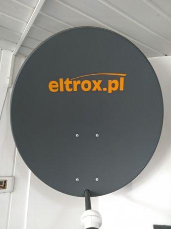 SONEO.pl Tychy czasza antena satelitarna 90 cm standard grafitowa