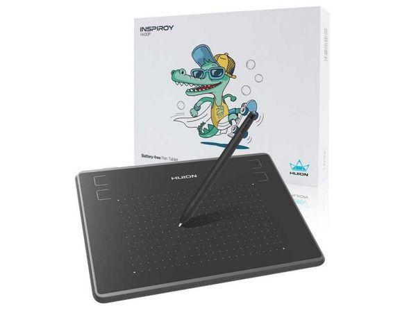 Графический планшет для рисования HUION H430P, поддержка Android