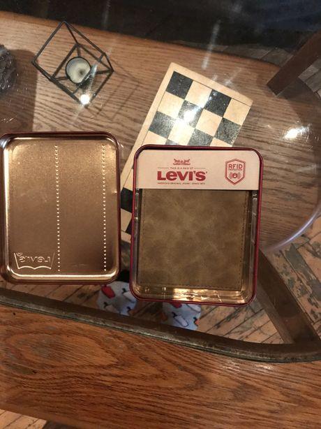 Levis Левайс Левис кошелек бумажник портмоне