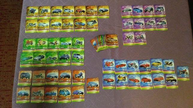 Karty samochodowe star foods