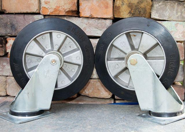 Колеса поворотные для тачки тележки Blickle LH-ALEV 250K
