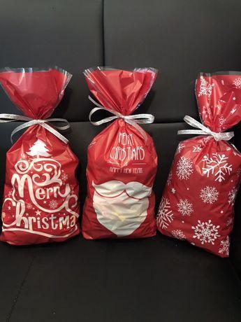 Новогодние пакеты для упаковки конфет, подарков, сувениров.