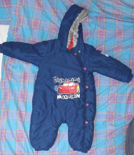 Kombinezon zimowy dla chłopca rozmiar 80-86