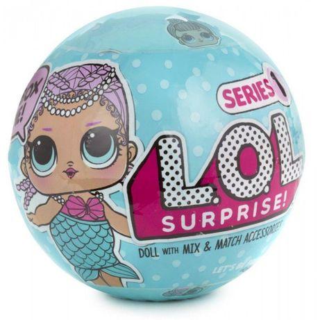 Кукла ЛОЛ 1 серия перевыпуск из большого набора поштучно LOL Surprise
