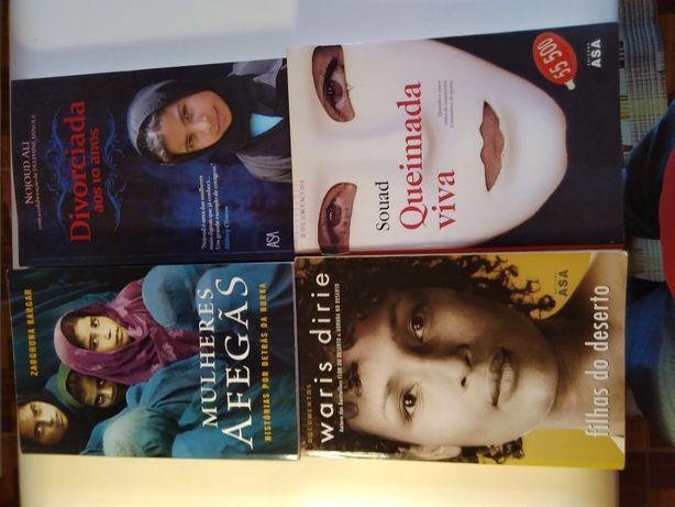 Livros variados biograficos