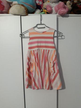 Sukienki 6 szt 110-116cm