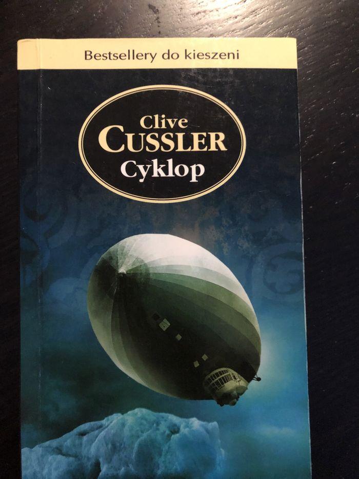 Książka - Clive Cussler - Cyklop - kurier gratis Dąbrowa Górnicza - image 1