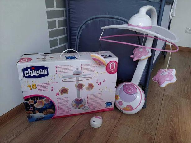Karuzela Chicco Magic Stars Różowa Prezent dla dziewczynki niemowlaka