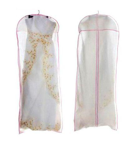 Чехол/кофр объемный для хранения свадебного/вечернего платья 180 см
