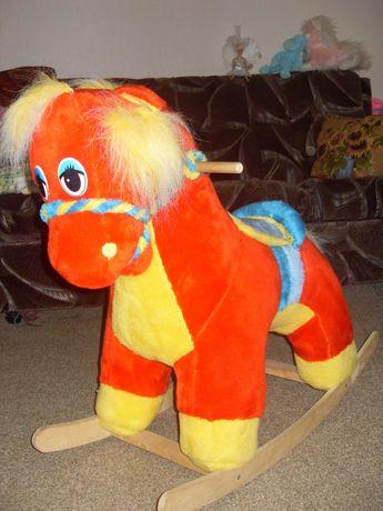 Детская игрушка Лошадка-качеля