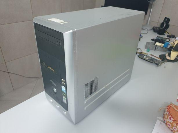 Caixa metalica para computador fixo, marca Siemens