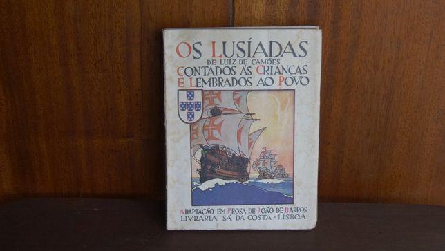 Os Lusíadas de Luís de Camões:Contados às Crianças e Lembrados ao Povo