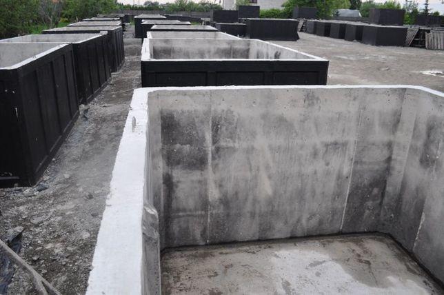 Zbiornik betonowy na gnojowicę gnojówkę szamba 6m3 betonowe szambo