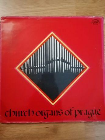 Płyta gramofonowa, muzyka organowa z Pragi