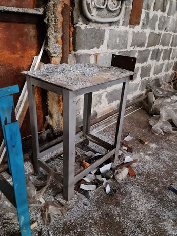 Тумба стальная (подставка под станок)