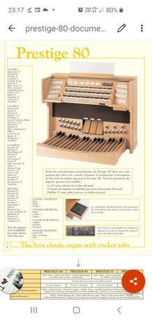 Organy kościelne cyfrowe  Domus Prestige 80. Jak nowe.