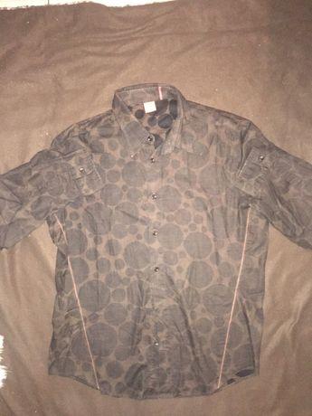 Koszula ciemny braz firmy Boss  roz XL
