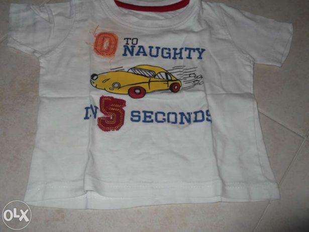 T Shirt até 12 meses