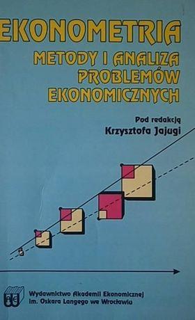 Ekonometria Metody i analiza problemów ekonomicznych