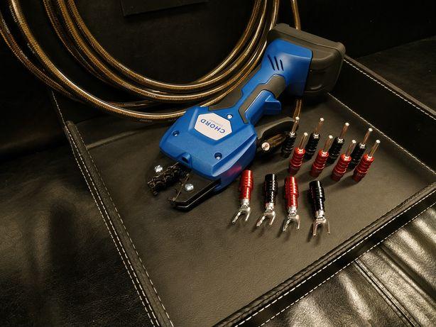 Konfekcja kabli głośnikowych Chord Ohmic Silver 8szt Trans Audio Hi-Fi