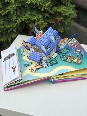 Pop-up book ,Alices Adventures in Wonderland, Сабуда,3D
