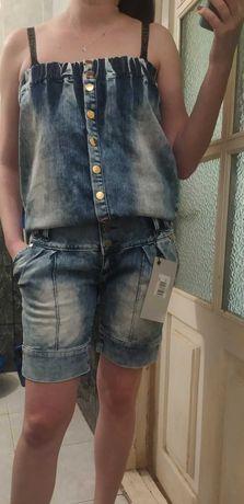 шорты комбинезон джинсовый \Турция\DSQUARED