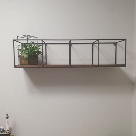 Półka ścienna loftowa