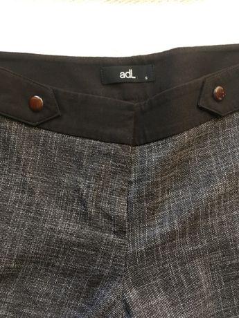 Spodnie ADL czarne szare rozmiar S