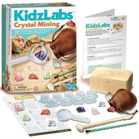 Набір для досліджень 4M Видобуток мінералів