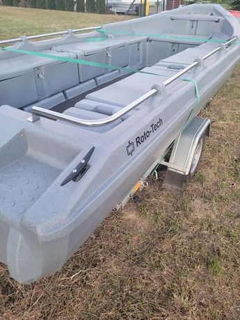 łódź motorowa KONTRA wędkarska