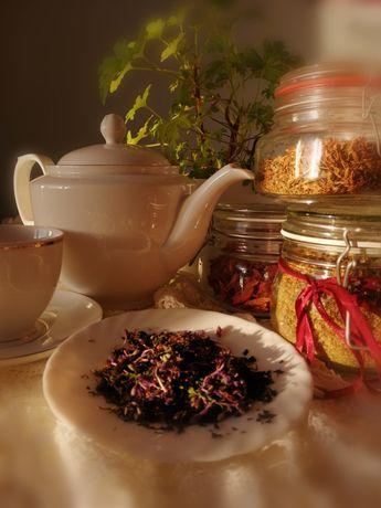 Ecologiczna herbata iwan czaj ręcznie robiona zdrowa