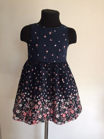 Детское платье primark на девочку 2-3 года 92-98 рост