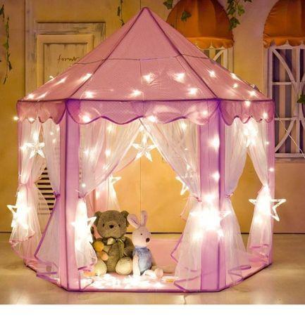 Детский домик игровой Намет для дітей KRUZZEL Дитяча палатка вигвам