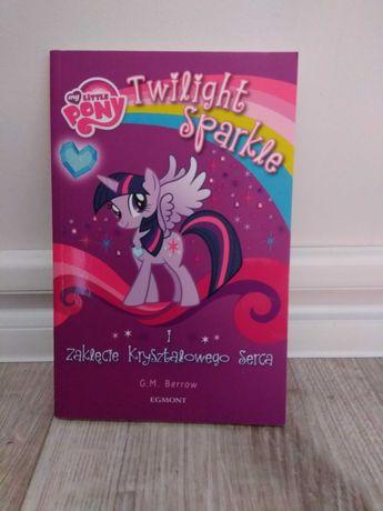 """""""My little pony, Twilight i zaklęcie kryształowego serca"""" książka"""