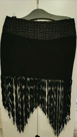 Spódnica z frędzlami, r. L/ XL