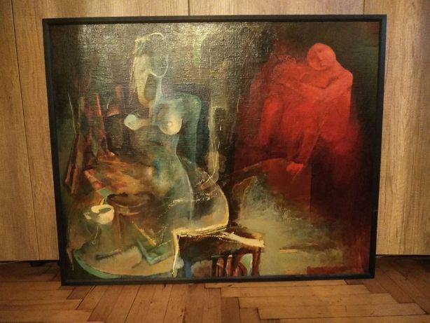 """Картина """"Театральные реминисценции"""" Виктор Репин, 1996 г."""