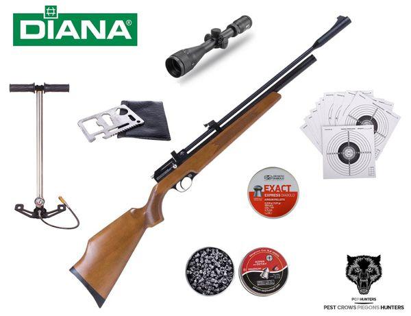 128 04 Wiatrówka Diana PCP Stormrider Kompletny Zestaw !