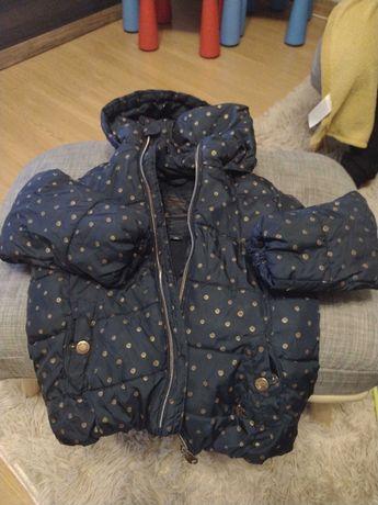 Sprzedam kurtkę dziewczęca zimowa rozmiar 104